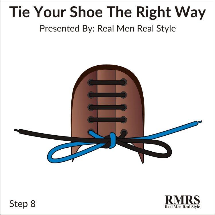 moyen facile d'attacher des chaussures