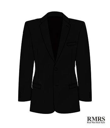 Lego New Dark Bluish Gray Torso Suit Jacket Unbuttoned with Red Tie Pattern