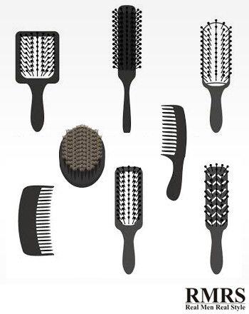 Kinds of hair men