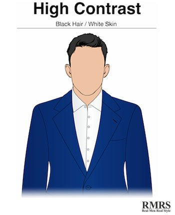 How Color Contrast Affects A Man S Individual Style
