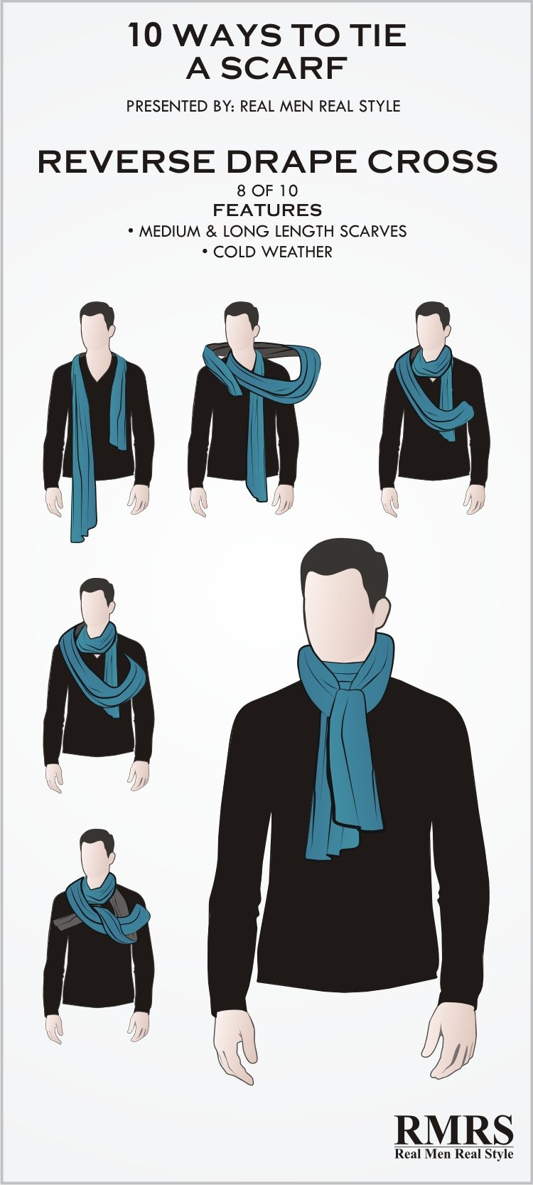 Fashion style How to neck a wear scarf male for woman