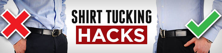 how to tuck in shirt