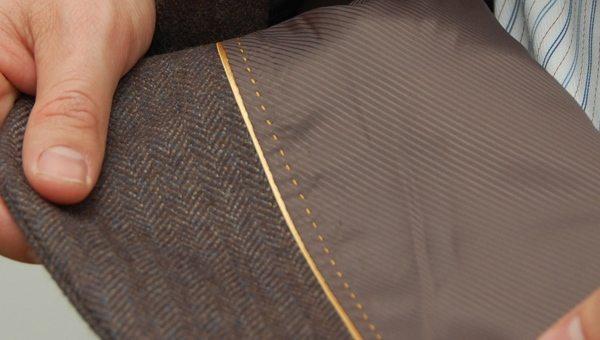 interior jacket lining