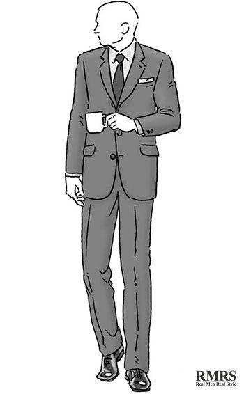 tall and thin man