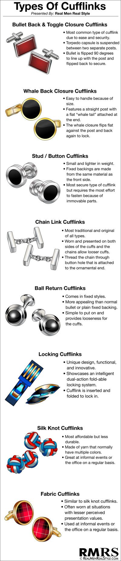 09f241a2a50 A Man's Guide to Cufflinks | Ultimate Cufflink Purchase Guide | How ...