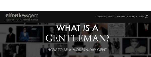 Top Ten Men S Style Blogs 2019 Edition Best Male Fashion