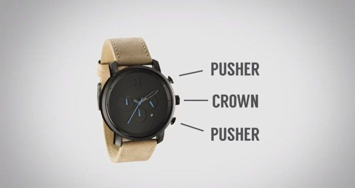 how use chronograph watch