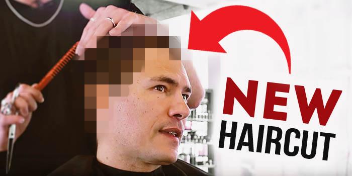 Antonio's new haircut