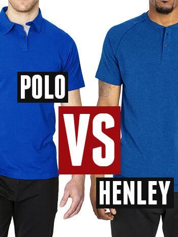 9996bb15 Henley vs Polo Shirts for Men - Ultimate Man's Shirt Comparison