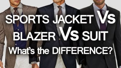 Sports Jacket Blazer Suit What S The Difference