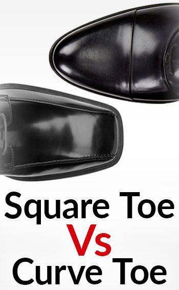 5bc02084b4b4 Squared Vs. Curved Toe Shape Dress Shoes