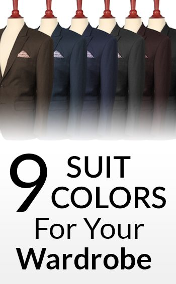 886e3f06 9 Suit Colors For A Man's Wardrobe | Men's Suits & Color | Which Suit  Colors To Buy In Priority Order