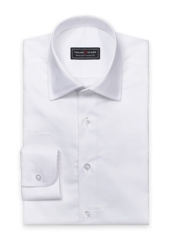 tailor store white dress shirt