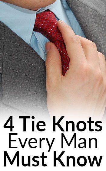 4 tie knots every man must know classic necktie knots for men 4 tie knots every man must know classic necktie knots for men four in hand full windsor half windsor bow tie ccuart Images