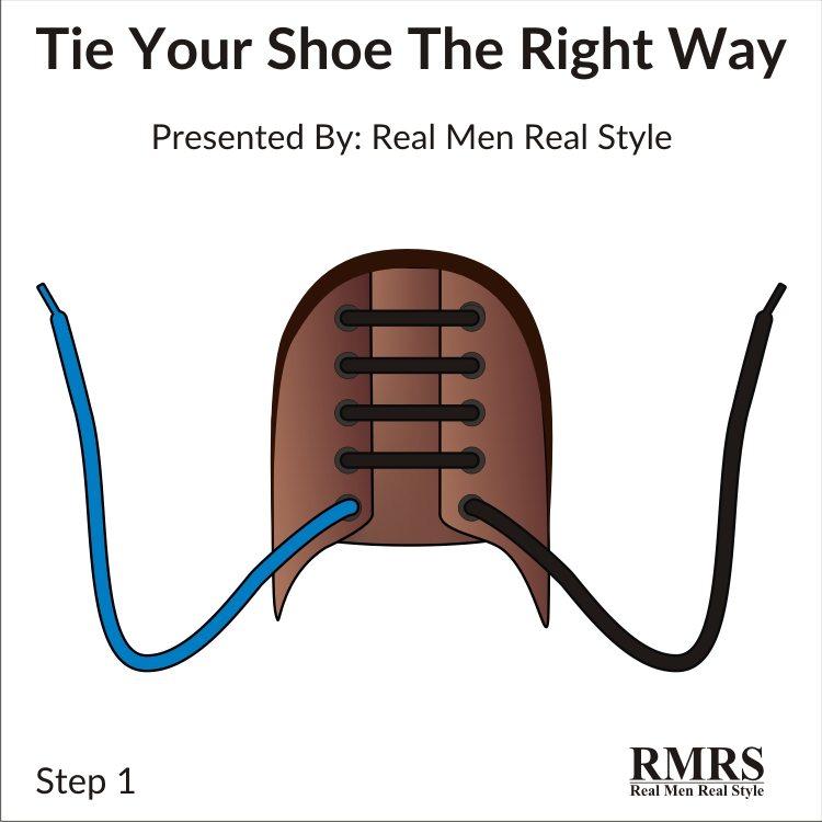 attacher des chaussures