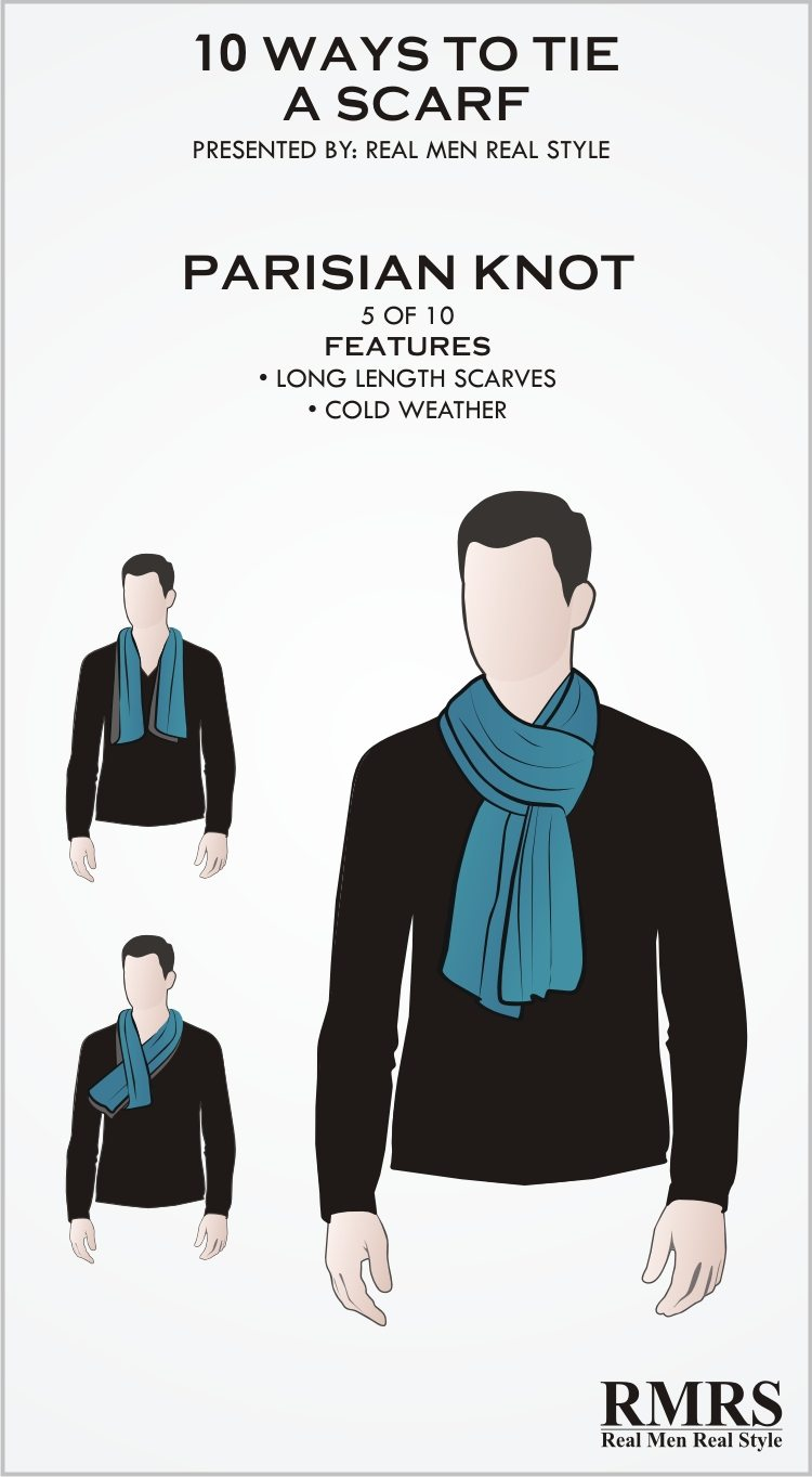 5d16c90d072f7 10 Manly Ways To Tie A Scarf | Masculine Knots For Men Wearing Scarves
