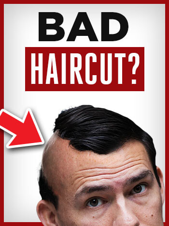 Bad Haircut Fix - What To Do When Your Barber Messed Up Your Hair